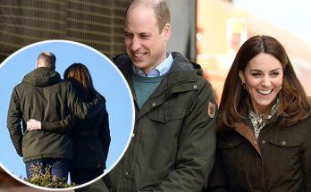 Кейт Миддлтон и принц Уильям мило обнимались во время визита в Ирландию