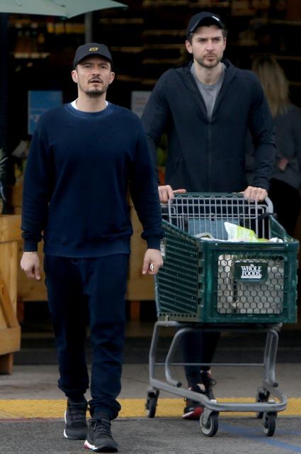 Кэти Перри и Орландо Блум сходили за продуктами в Лос-Анджелесе