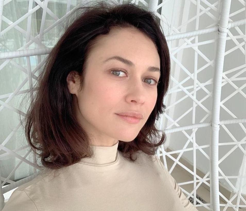 Ольга Куриленко показала своего сына