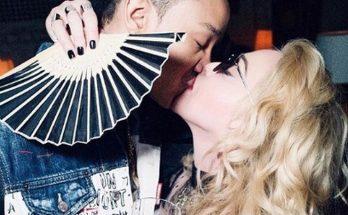 61-летняя Мадонна поразила поклонников страстными ласками с 27-летним возлюбленным