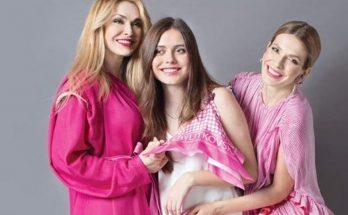 Ольга Сумская поделилась красивыми кадрами с дочками