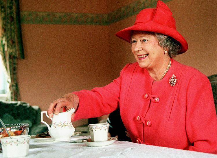 Какой чай предпочитает королева Великобритании