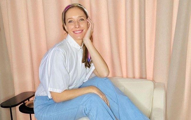 Катя Осадчая восхитила снимком без макияжа