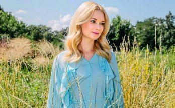 Девушка-весна: Лидия Таран примерила яркое платье с декольте