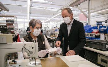 Дом Louis Vuitton запустил производство нехирургических защитных масок