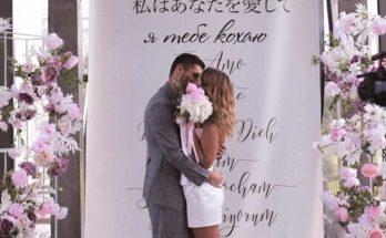 Никита Добрынин показал свадебные фото с Дашей Квитко