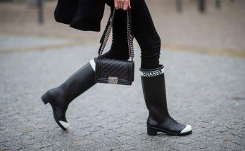 Звезды streetstyle рекомендуют: с чем носить резиновые сапоги