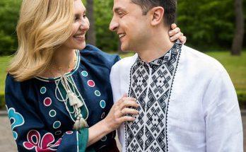 Наряды в этническом стиле: Елена Зеленская поделилась редким кадром с супругом