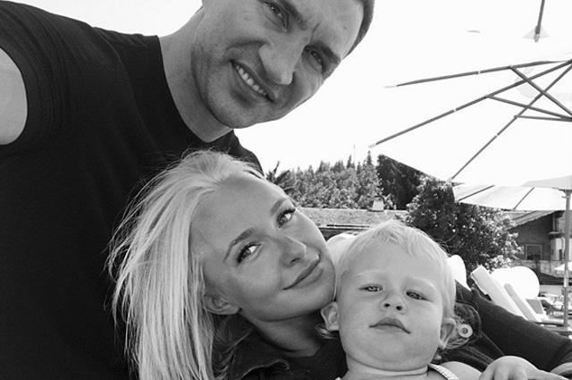 Бывшая Владимира Кличко показала их общую дочь