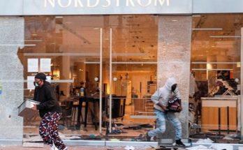 Последствия протестов в США: пострадали бутики Alexander McQueen, Gucci, Louis Vuitton и Marc Jacobs, видео