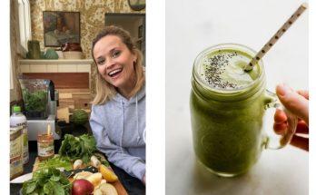 Красота в стакане: Риз Уизерспун поделилась рецептом любимого смузи с секретным ингредиентом
