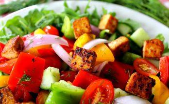 Панцанелла — тосканский овощной салат: видоизмененный рецепт от Кати Осадчей