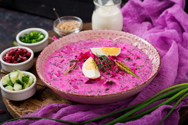 Рецепт летнего блюда: как приготовить свекольник