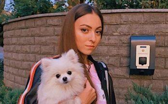 Дочка Оли Поляковой похвасталась стальным прессом