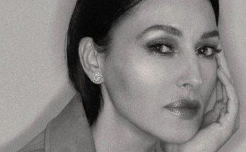 Моника Беллуччи позировала в сексуальном боди