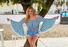 Ирина Федишин в черном купальнике восхитила поклонников стройной фигурой