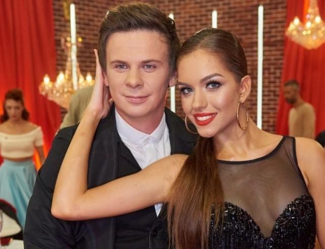 Дмитрий Комаров показал, как делал жене предложение