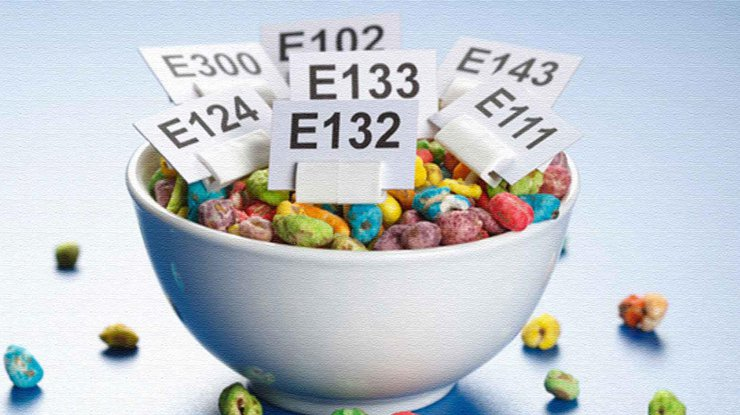 Коды пищевых добавок, которые вызывают онкологию
