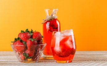 Клубничный лимонад: рецепт самого летнего напитка из ягод