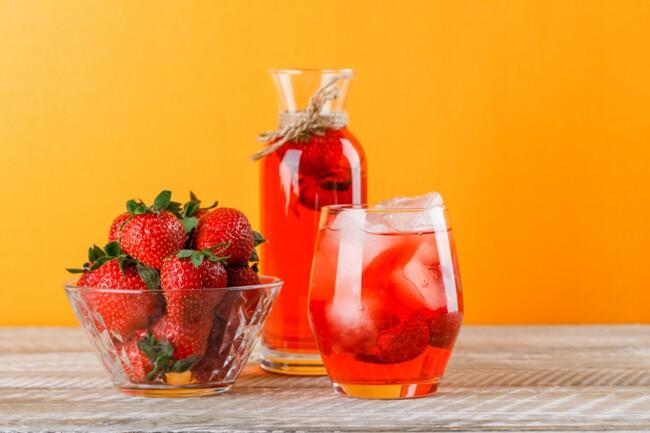 Как приготовить клубничный лимонад