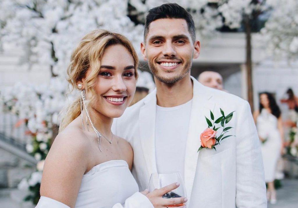 Первые фотографии со свадебного торжества Никиты Добрынина и Даши Квитковой
