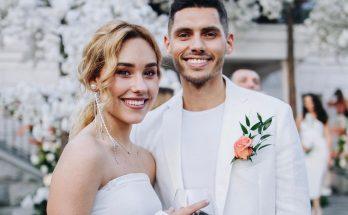 Это случилось: первые фотографии со свадебного торжества Никиты Добрынина и Даши Квитковой
