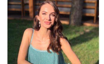Какие ножки: возлюбленная Владимира Остапчука похвасталась фигурой в самом модном платье этого лета