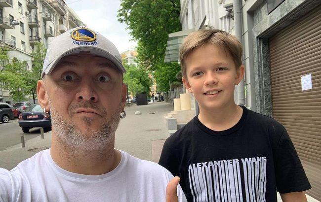 Потап показал видео с подросшим сыном