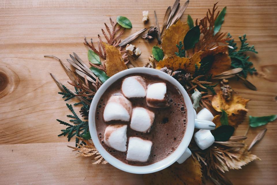 Готовим горячий шоколад с корицей, медом и сливками