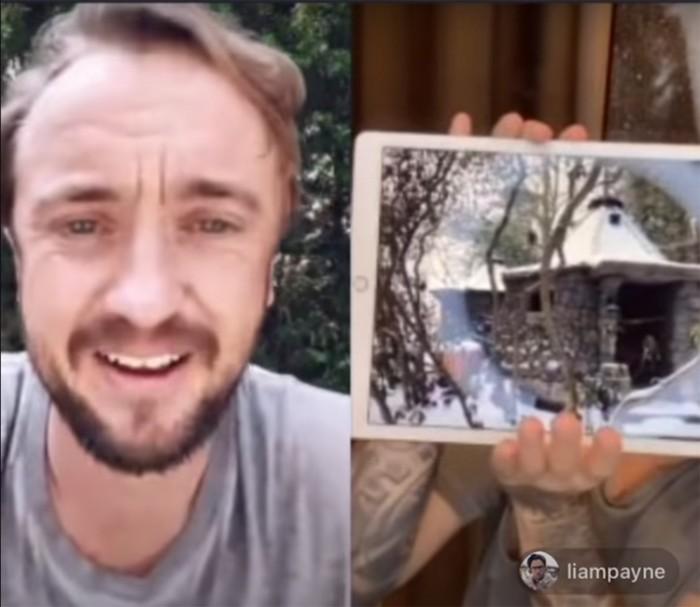 Экс-солист One Direction построил в своем саду хижину Хагрида из «Гарри Поттера»