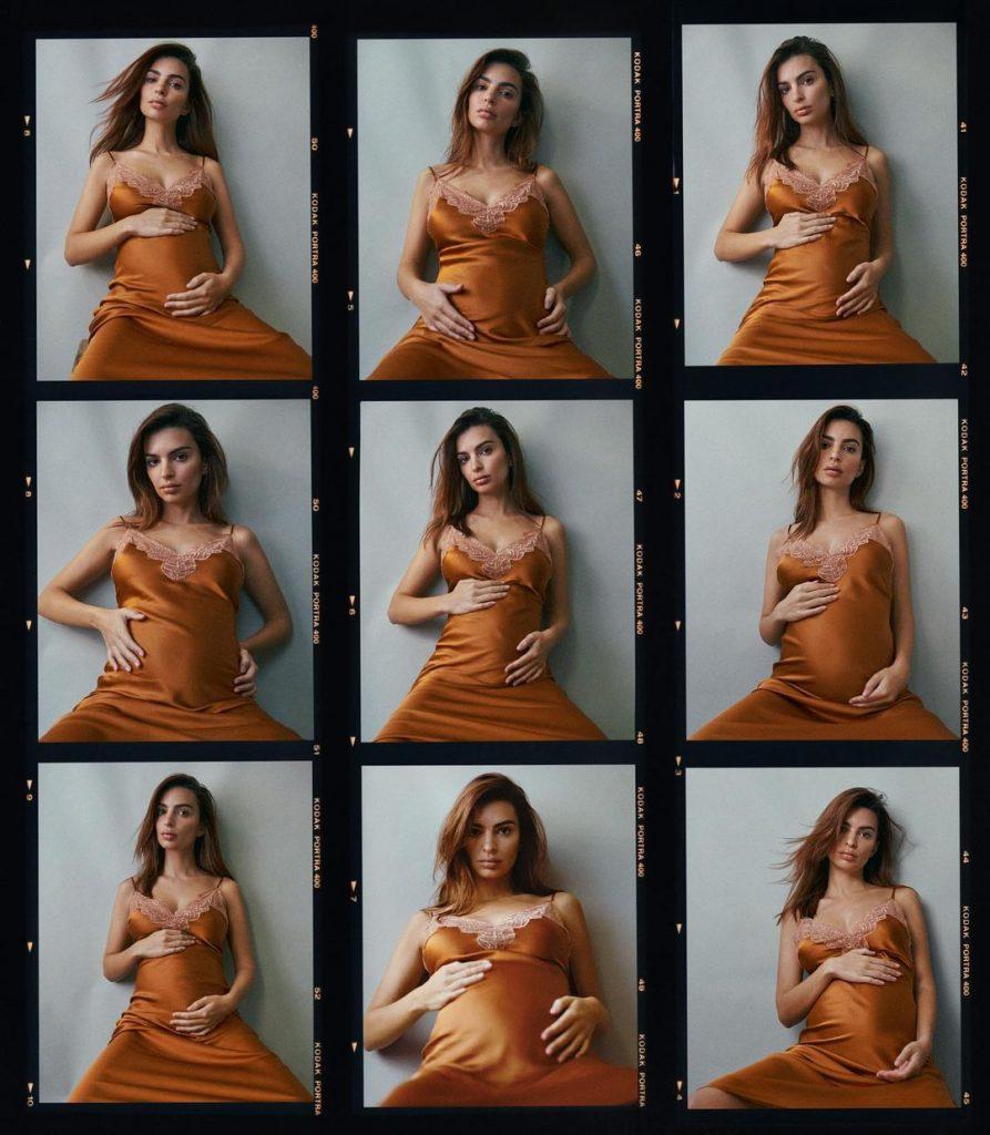 Эмили Ратаковски снялась для VOGUE беременной