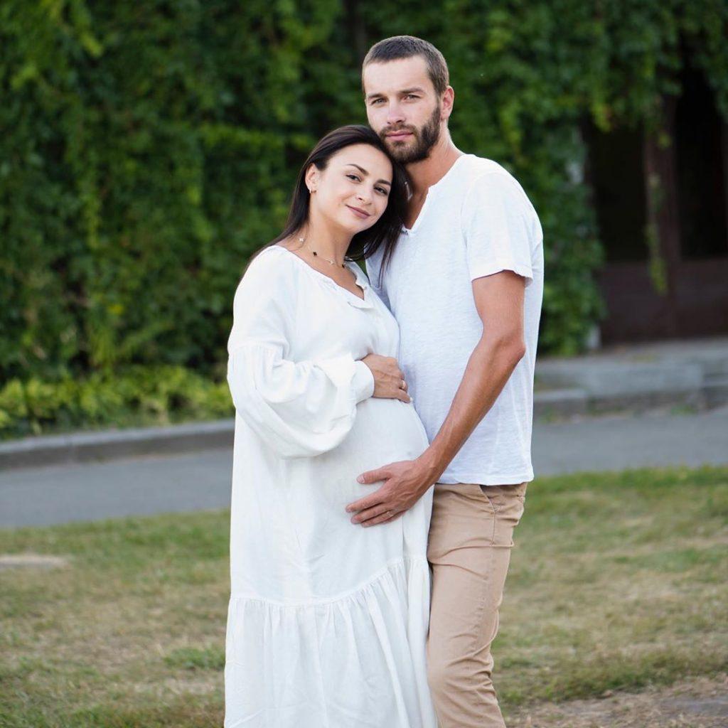 Илона Гвоздева родила сына