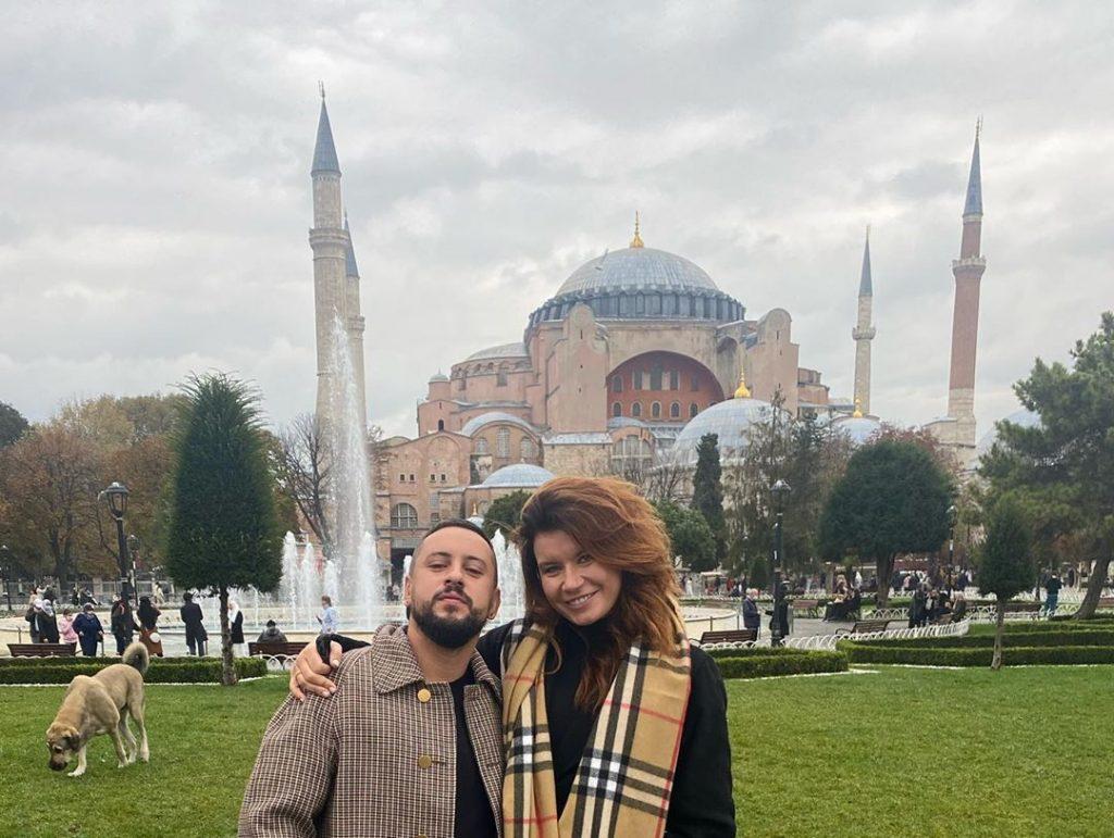 Жена Дмитрия Монатика показала, как прошли романтические выходные
