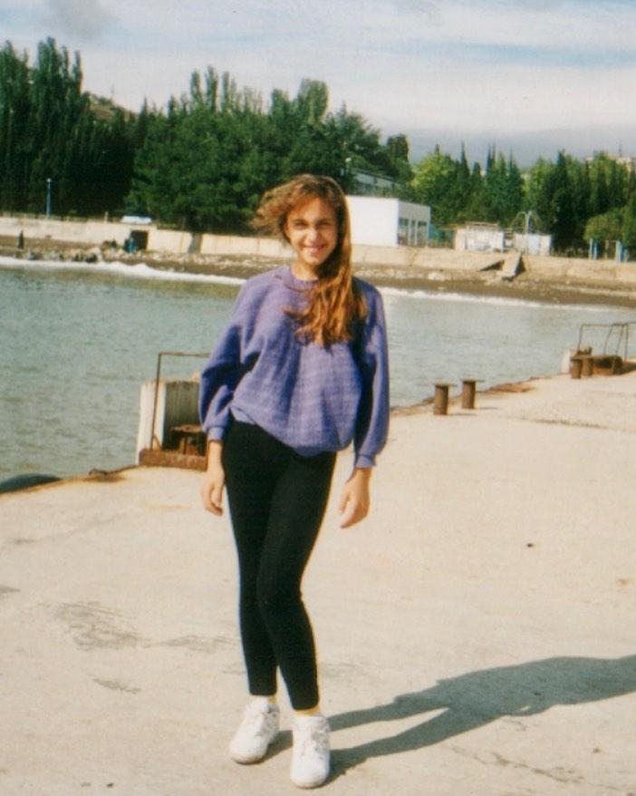 Джамала показала себя в 13 лет