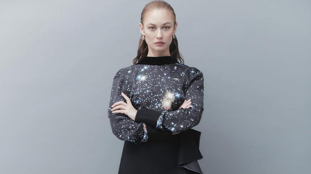 Ольга Куриленко показала образ со съемки для нового выпуска Harpers Bazaar