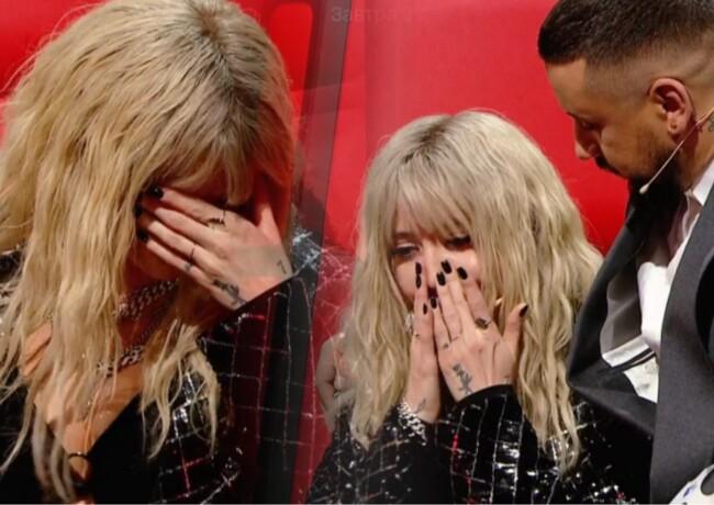 Надя Дорофеева расплакалась в прямом эфире «Голос країни»