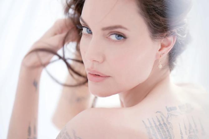 какой парфюм обожает Анджелина Джоли