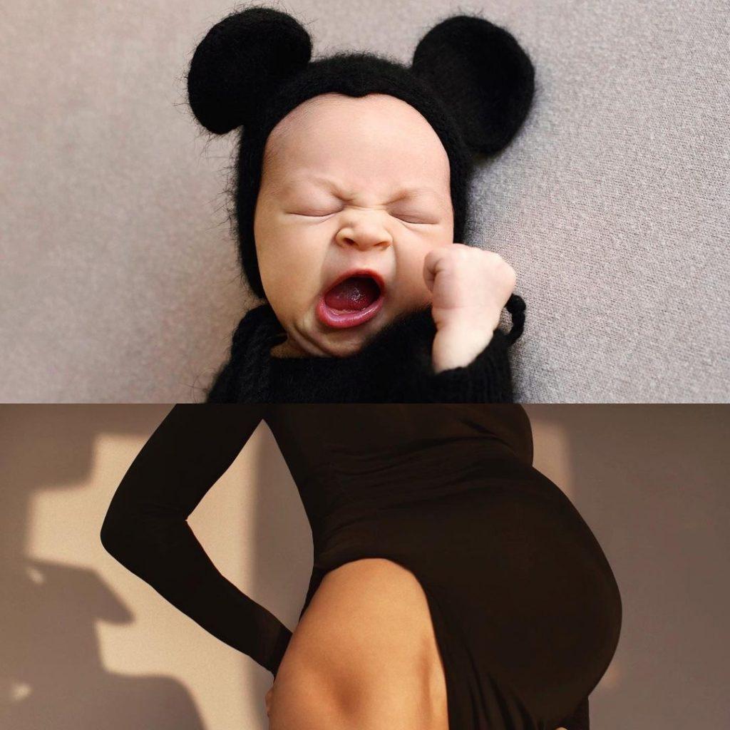 Василиса Фролова впервые после родов показала лицо своего сына