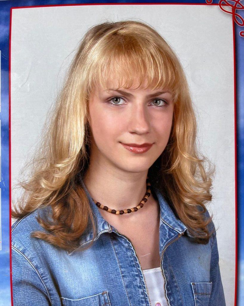 Леся Никитюк показала, какой была в девятом классе