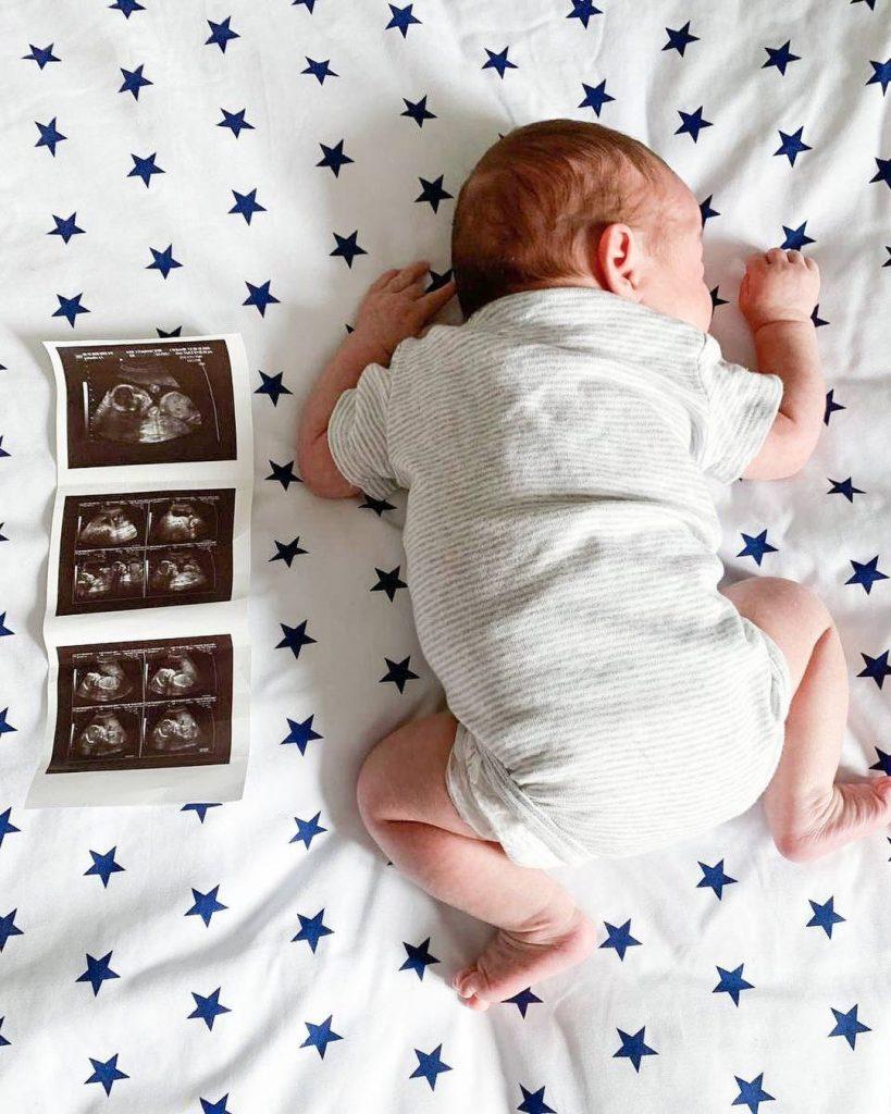Анастасия Приходько умилила снимком новорожденного малыша