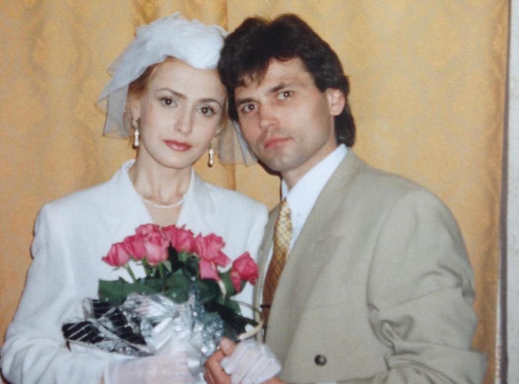 Ольга Сумская показала, как выглядела на своей свадьбе с Виталием Борисюком