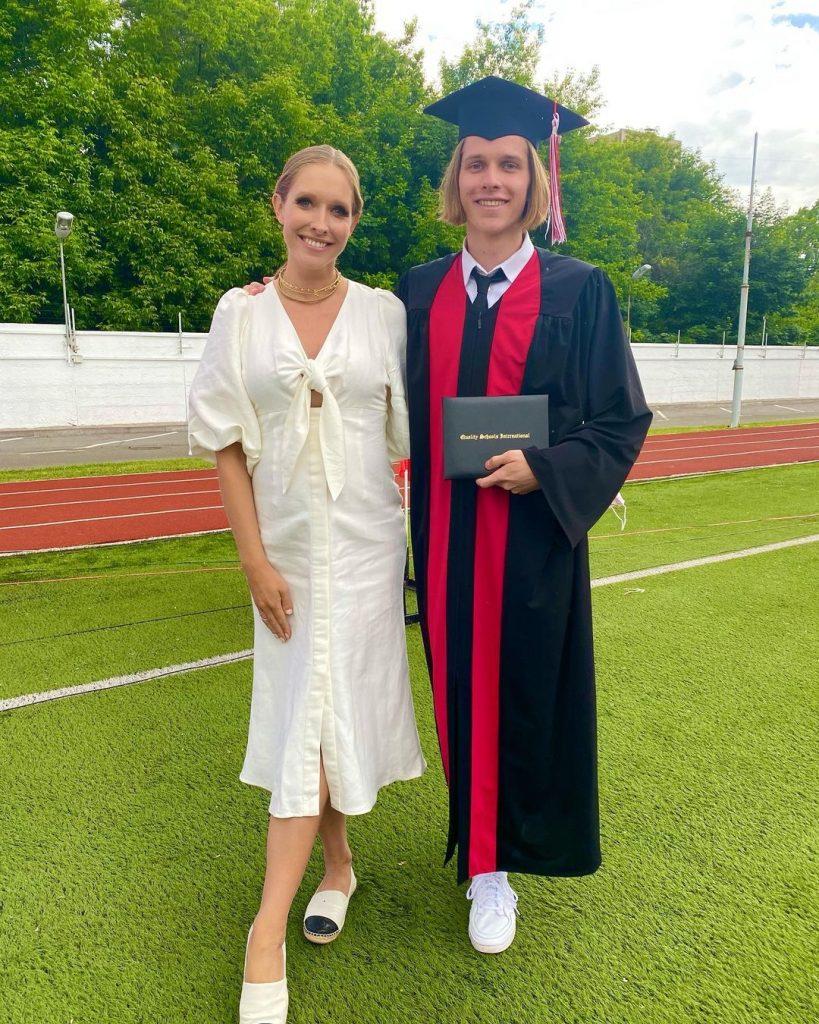 Катя Осадчая показала редкие фото со своим старшим сыном