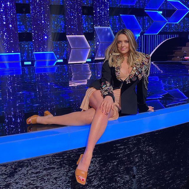 Наталья Могилевская оголила ноги, и похвасталась результатами похудения