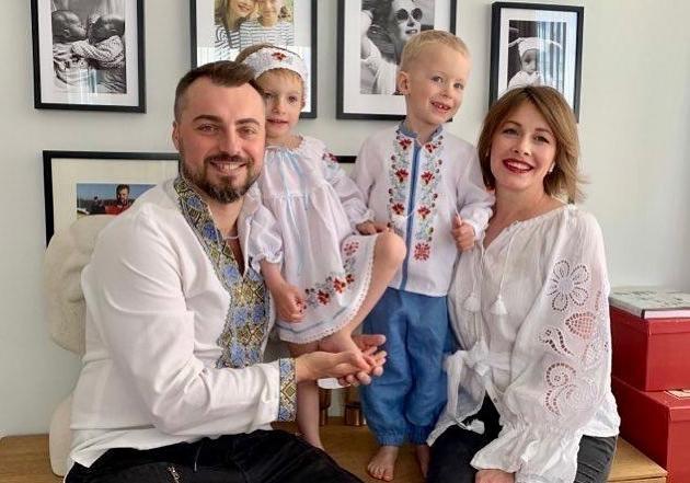 Елена Кравец показала видео танца своих 5-летних двойняшек